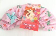 Girls Disney Princess Ariel Little Mermaid Shower Cap Pink Shower Bath Cap Gift