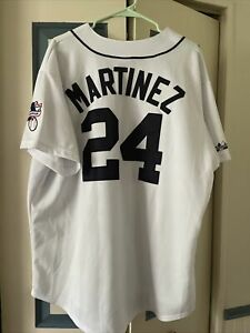 Vintage Yankees Jersey Majestic RN 53157 Size 2X Made in USA Excellent with Tags