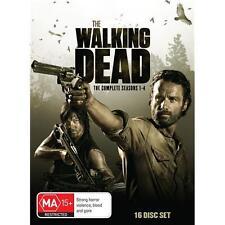 The Walking Dead The Complete Season 1, 2, 3 & 4 DVD Box Set 1 - 4 Region 4