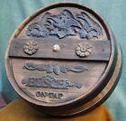 BUSCH BEER Barrel TAP Original Vintage 1970s Advertising SIGN Anheuser RARE