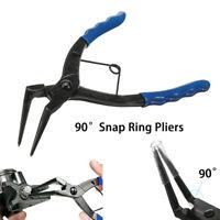 90 Degree Long Nose Snap Ring Pliers Grip Piler Heavy Duty Internal Circlips