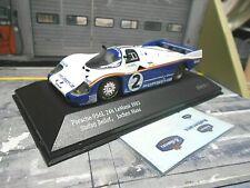 PORSCHE 956 L 956L Le Mans 1983 #2 Bellof Mass + Rothman s Decals IXO 1:43