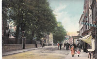 Shropshire postcard CHURCH STREET, OSWESTRY 1922 by Wrench
