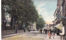 Shropshire postcard CHURCH STREET, OSWESTRY 1922 by Wrench
