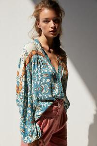 Anthropologie Eliane Buttondown Oversized Blouse Top Sz XS (Uk 8 10 12) RRP £120
