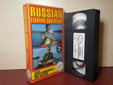 Russian Fishing Adventure - Kevin Maddocks - PAL VHS Video Tape - (H157)