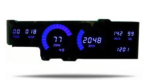 1978-1988 Oldsmobile Cutlass Digital Gauge Dash Panel Blue LED Lifetime Warranty
