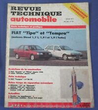 Revue technique automobile rta 527 Fiat tipo & tempra diesel & turbo diesel