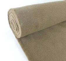 """5 Yards Light Brown Upholstery Un-Backed Automotive Trim Carpet 40""""x15 Ft Roll"""