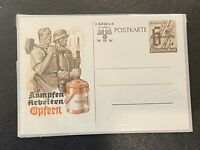Nazi Propaganda Postcard: Third Reich: German Occupied Luxembourg: RARE HISTORY