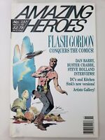 AMAZING HEROES MAGAZINE #137 March 1988 ORIGINAL SANDY PLUNKETT COVER! NEWSSTAND