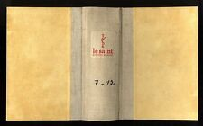 LE SAINT MAGAZINE  RELIURE TOME 7-12  SIMENON-KENNY-SAX ROHMER-AGATHA CHRISTIE