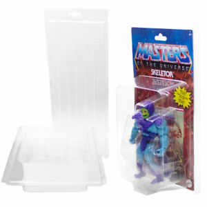 MORAX Aufbewahrungsbox PVC Blister für Motu und WWE Origins Figuren aufhängbar