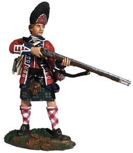 W Britain Soldiers 16057 42nd Royal Highland Regiment Grenadier Standing Alert