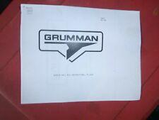 Grumman Canoe Sail kit instructions copies rare Gunter Rig