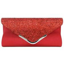 Women PU Sequin Purse Cocktail Ladies Evening Handbag Smart Party Clutch Bags