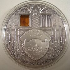 2010 REPUBLIC OF PALAU $10 SAGRADA FAMILIA 2oz. SILVER COIN/COA LIMITED/RARE