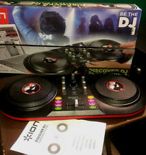 Ion Audio Discover DJ USB DJ Controller with Box And Manual and No software