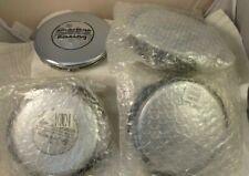 American Racing Chrome Custom Wheel Center Cap Caps # F106-21 NEW! (4 CAPS)
