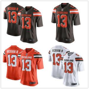 NFL Men's Odell Beckham Jr #13 Cleveland Browns American Football Jersey
