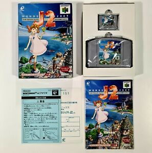 1996 Nintendo 64 Rollenspiel WONDER PROJECT J2 jap. Enix Action Adventure