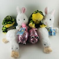 Webkinz Lil Kinz Lot WITH Codes Lot Of 8 Frog Fish Bunny