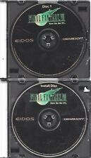 Video Game - Computer PC CD Rom - FINAL FANTASY VII PC EDITION - Discs Only