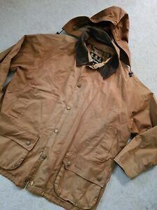 Mens Barbour Size XXL tan Brown Beaufort Jacket Outdoor