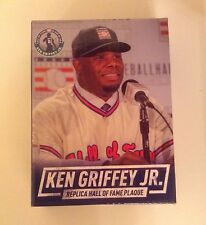 SEATTLE MARINERS KEN GRIFFEY JR MLB HALL OF FAME REPLICA MINI PLAQUE