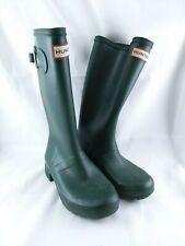Hunter Kids Green Rubber Rain Boots Original Tall - Size US 1, EU 32
