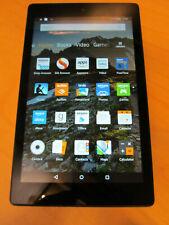 """Amazon Kindle Fire HD 8 6th Gen 16GB WiFi-Only Black 8"""" Tablet w/ Alexa 0GE5"""