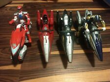 Power Rangers Wild Force Rider Cycle Lot Plus Operation Overdrive