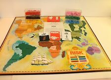 Vintage Risk Board Game With Armies, Cards & Rules NO Box