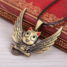 Anime Fairy Tail Happy Cosplay Props Metal Pendant Necklace