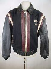 VTG Men's Harley-Davidson Full-Zip Leather Jacket Size L A6004