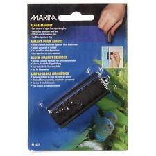 Marina Algae Magnet Cleaner - 1 3/4 inch Small Aquarium Glass Cleaner