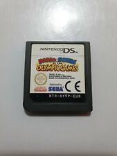 Mario y Sonic en los Juegos Olimpicos Nintendo Ds PAL EUR Solo cartucho LEER!