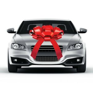 CarBowz Magnetic Happy Birthday Car Bow Large Car Bow Defects Minor Imperfection