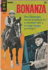 Bonanza # 27 PHOTO COVER HOSS AND BEN Gold Key Comics 1968