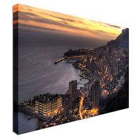Monaco Canvas Canvas Wall Art Picture Print