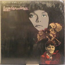 LADYHAWKE Lp OST by Andrew Powell – Produced by Alan Parsons, in Shrink Wrap