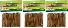 Ware Natural Willow Pretzel Sticks Chew Toy For Guinea Pigs Gerbils Rat LOT OF 3