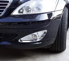 Schätz ® Chrom Scheinwerferrahmen Mercedes Benz S-Klasse W221 09//2005-06//2013