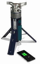 Tegology Tegstove NEW Fishing Camping Stove USB Charger Portable Power Pack Gas