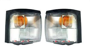 *NEW* CORNER LIGHT INDICATOR PARK LAMP SUIT TOYOTA COASTER BUS 1993 - 2006 PAIR