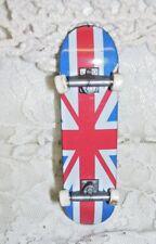 Miniature Skate Board Flag of Great Britain Uk