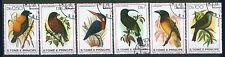 210 -St.Tome & Principe - Birds - Used Set