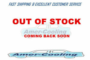 3Row Aluminium Radiator + Shroud For Buick Electra Century Plymouth PB200 PB100