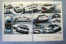 BELLEU999-PUBBLICITA'/ADVERTISING-1999- AUDI TT ROADSTER