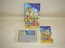 METAL MAX 2 Item Ref/ccc Super Famicom Nintendo JAPAN Boxed Game sf